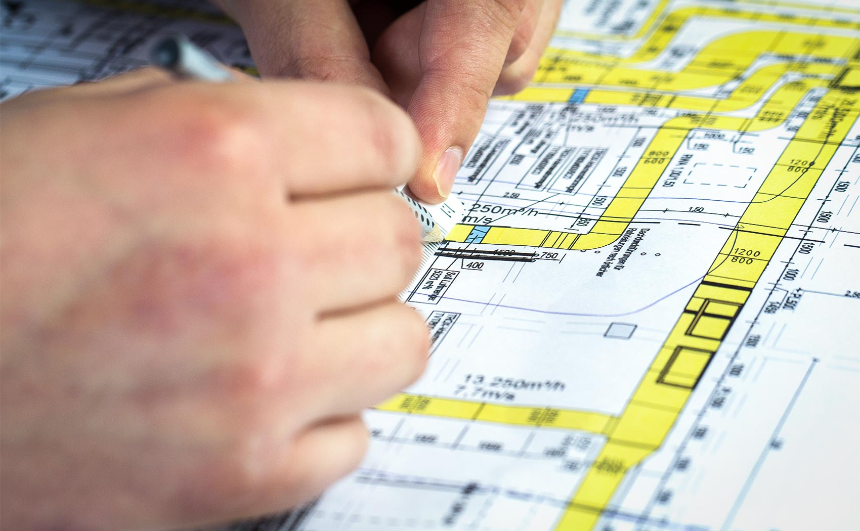 Genaue Planung und Projektierung sind unsere Stärke