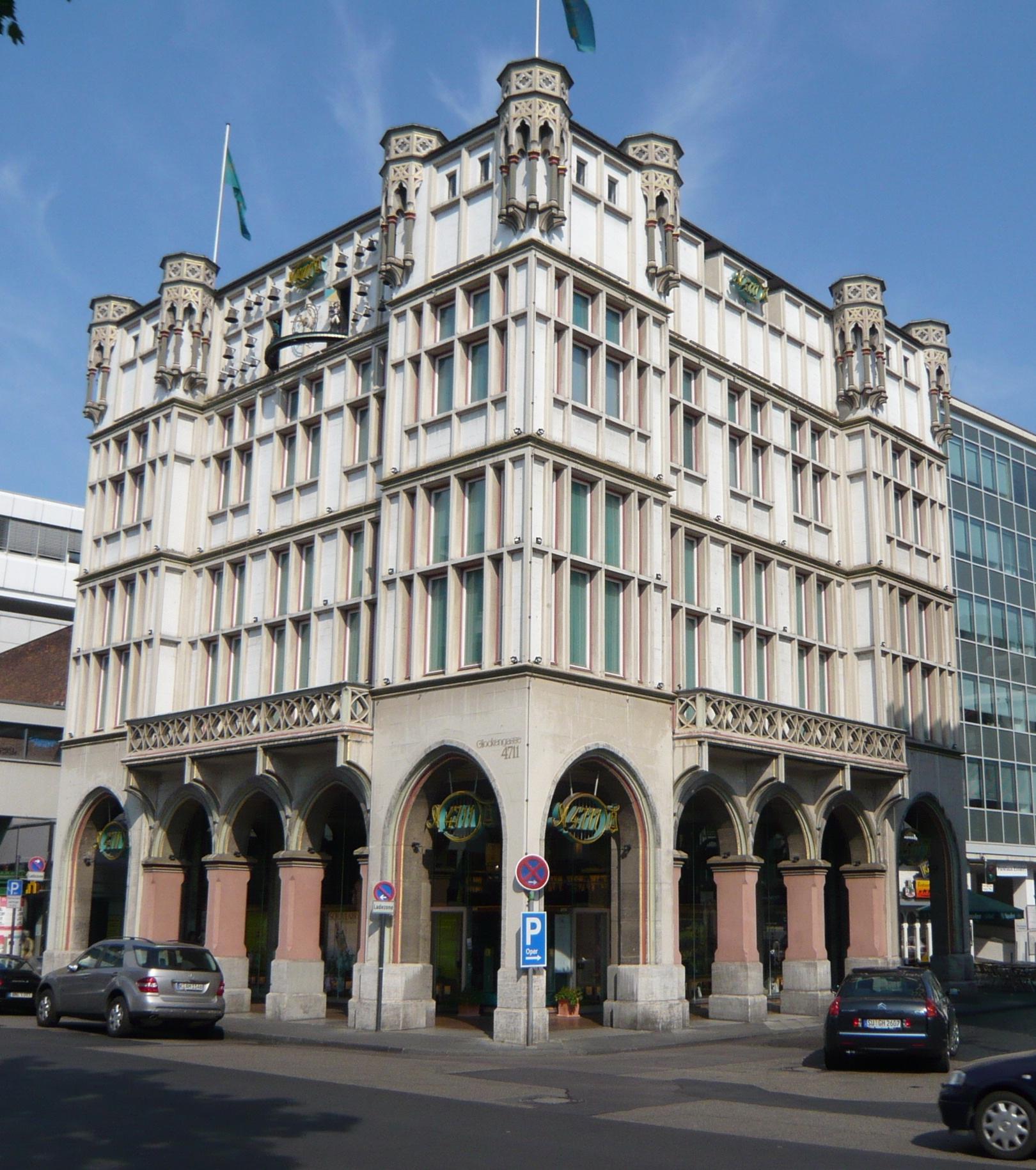 Sanierung des Traditionshauses 4711, Köln