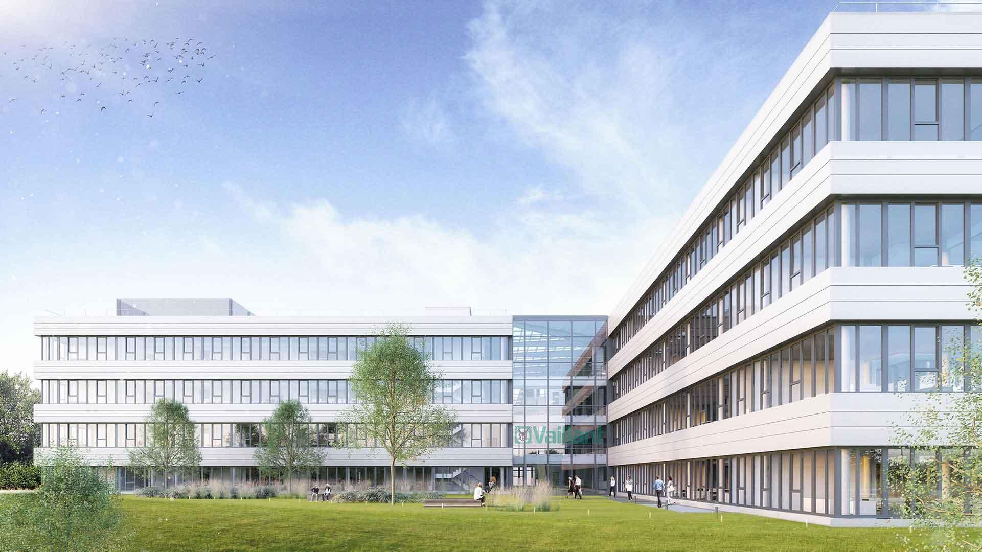 Neubau Testcenter Vaillant, Remscheid