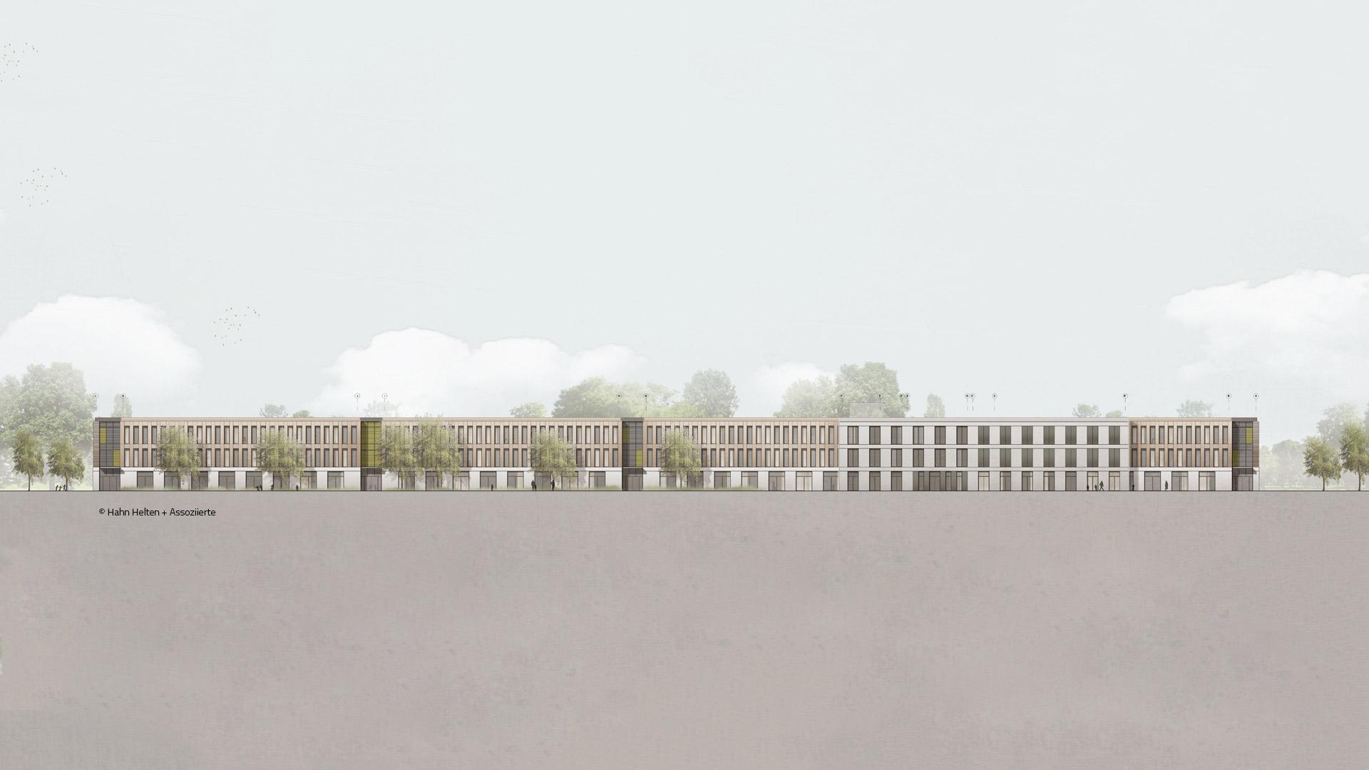 Neubau Willy-Brandt-Gesamtschule, Köln