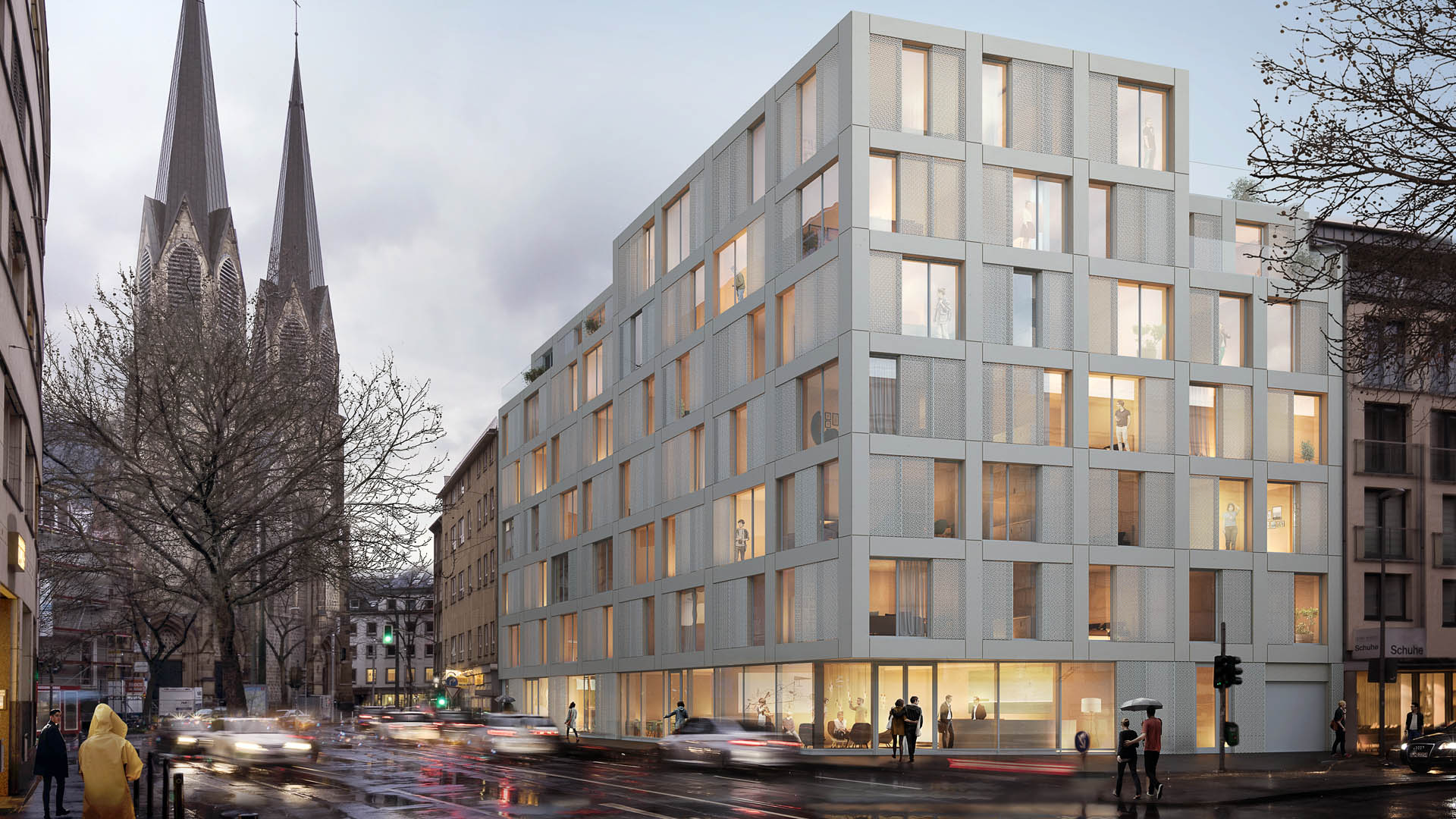 Neubau Boardinghouse, Düsseldorf