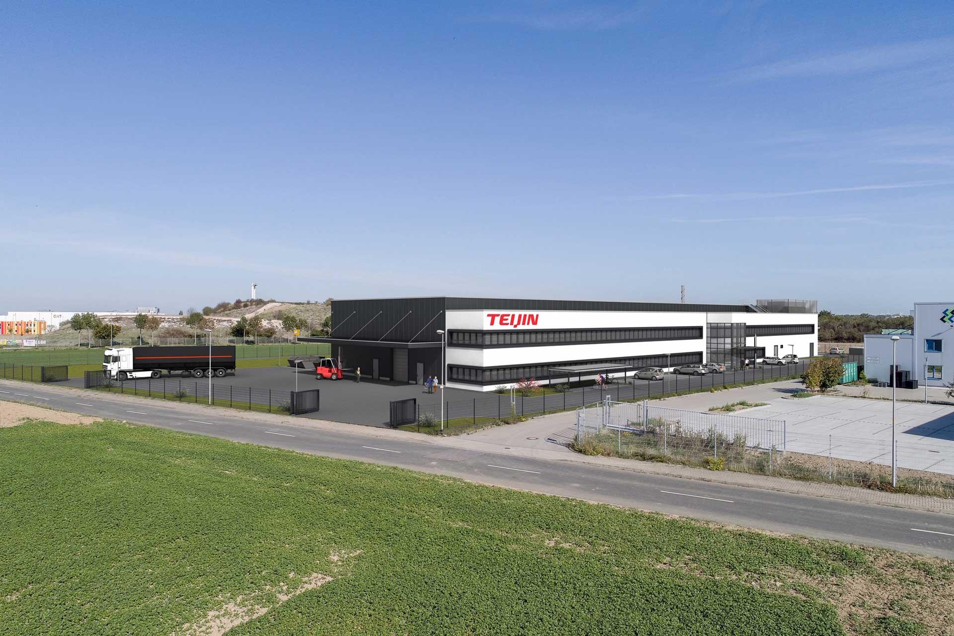 Neubau Teijin-Produktionshalle, Heinsberg
